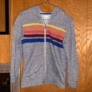 Girls gray sweater
